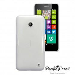 Coque transparente givre pour Nokia Lumia 630