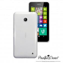 Coque transparente cristal pour Nokia Lumia 630