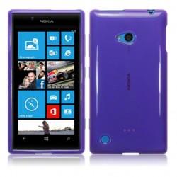 Coque violet translucide pour Nokia Lumia 720