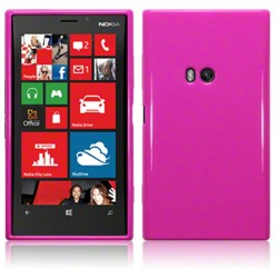 Coque rose brillant  pour Nokia Lumia 920