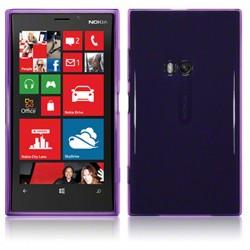 Coque violet translucide brillant pour Nokia Lumia 920