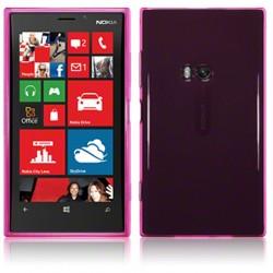 Coque rose translucide Nokia Lumia 920