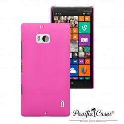 Coque rose touché gomme pour Nokia Lumia 930