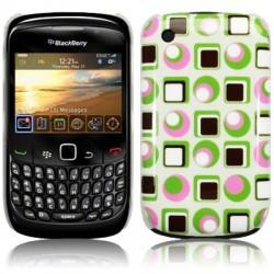 Coque avec motifs psychédéliques pour Blackberry 9300 Curve 3G
