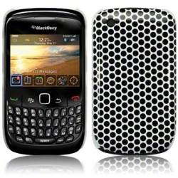 Coque avec motifs alvéoles pour Blackberry 9300 Curve 3G