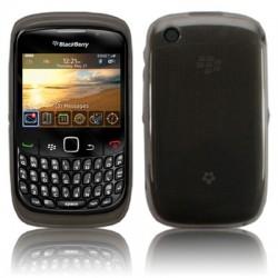 Coque hydro Silicrylic noire pour Blackberry 9300 Curve 3G