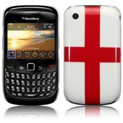 Coque rigide avec motif croix St Georges pour Blackberry 8520
