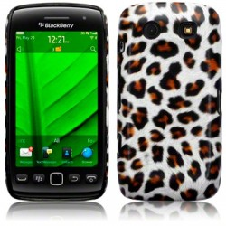 Coque rigide imitation léopard pour Blackberry Torch 9860
