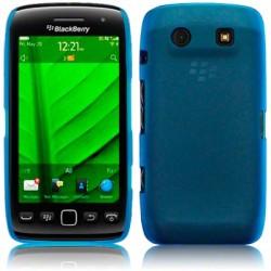 Coque rigide bleu translucide pour Blackberry Torch 9850 et 9860