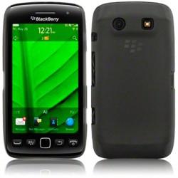 Coque rigide noir fumé translucide pour Blackberry Torch 9850 et 9860
