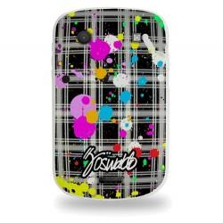 Coque avec taches de peintures pour Blackberry 9900
