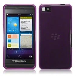 Coque pourpre translucide pour Blackberry Z10
