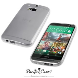 Coque transparente pour HTC One M8 par Pacific Cases®