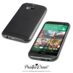 Coque noir fumé pour HTC One M8 par Pacific Cases®