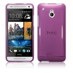 Coque violette translucide pour HTC One Mini