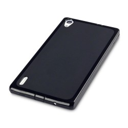 Coque noire pour Huawei Ascend P7