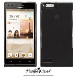 Coque noir fumé pour Huawei Ascend P7 Mini