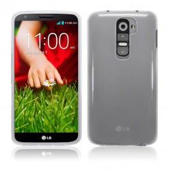 Coque transparente opaque pour LG G2