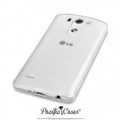 Coque pour LG G3 S transparente cristal gel