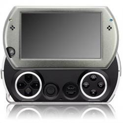 Coque de protection en métal argent pour console Sony PSP