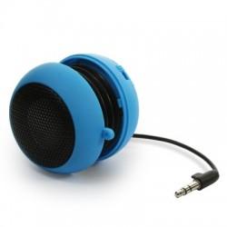 Enceinte Bass bleue avec prise Jack 3,5 mm