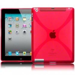 Coque gel rouge pour iPad 2