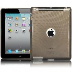 Coque gel noir translucide pour iPad 2