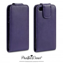Etui mauve à clapet pour iPhone 5 par Pacific Cases®