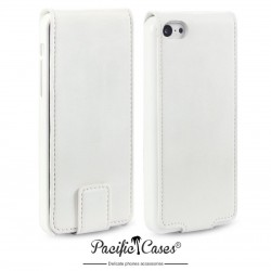 Etui blanc ouverture clapet pour iPhone 5c par Pacific Cases