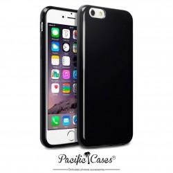 Coque gel pour iPhone 6 noir brillant