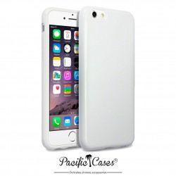 Coque gel pour iPhone 6 blanc brillant