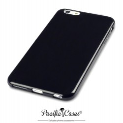 Coque gel pour iPhone 6 Plus noir brillant de Pacific Cases