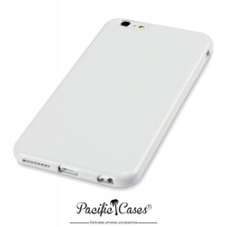 Coque gel pour iPhone 6 Plus blanc brillant de Pacific Cases