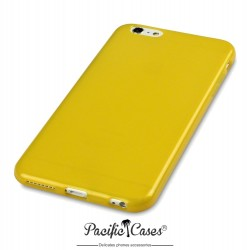 Coque gel pour iPhone 6 Plus jaune transparent de Pacific Cases