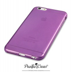 Coque gel pour iPhone 6 Plus violet transparent de Pacific Cases