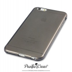 Coque gel pour iPhone 6 Plus noir fumé de Pacific Cases