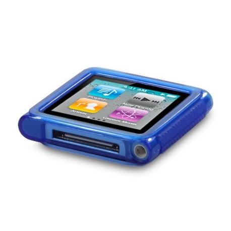 Coque gel bleu pour lecteur MP3 Nano 6