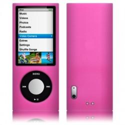 Coque silicone rose pour iPod Nano 5