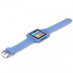 Bracelet montre bleu pour Apple Nano 6