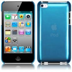 Coque bleu transparent pour iPod Touch 4