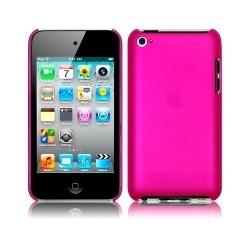 Coque rigide fushia pour iPod Touch 4