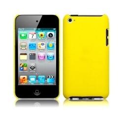 Coque rigide jaune pour iPod Touch 4
