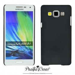 Coque pour Samsung A5 touché gomme marque Pacific Cases® - noir