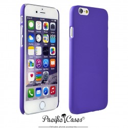 Coque pour iPhone 6  rigide touché gomme par Pacific Cases - pourpre