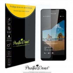 Film de protection écran en verre trempé pour Microsoft Lumia 550
