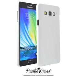 Coque pour Samsung A7 touché gomme marque Pacific Cases® - blanc