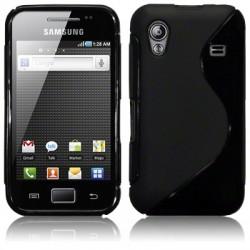 Coque gel noir pour Samsung S5830 Galaxy Ace