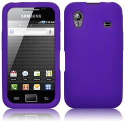 Coque silicone pourpre pour Samsung S5830 Galaxy Ace
