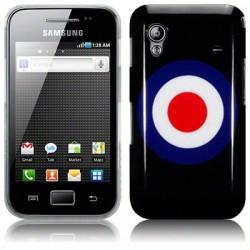 Coque noire avec logo Royal Air Force pour Samsung Galaxy Ace S5830