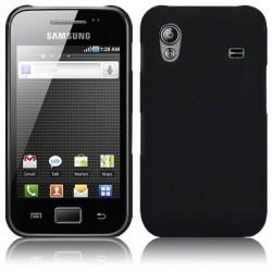 Coque noir mat pour Samsung Galaxy Ace S5830